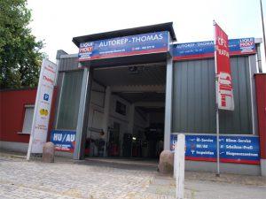 Werkstatteingang - Autowerkstatt Berlin Reinickendorf
